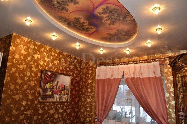 Выставка натяжных потолков в Москве